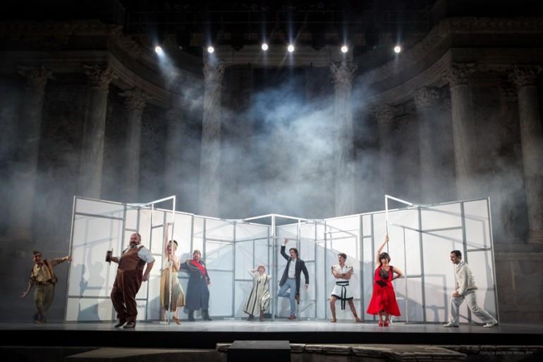 Teatro - El Eunuco, un vodevil a la romana, reparto
