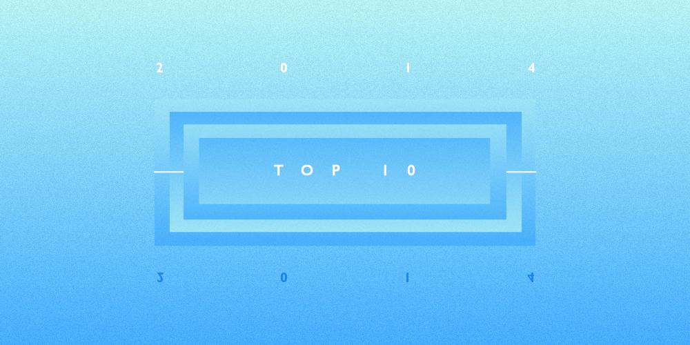 Lista mejores canciones 2014 TOP10