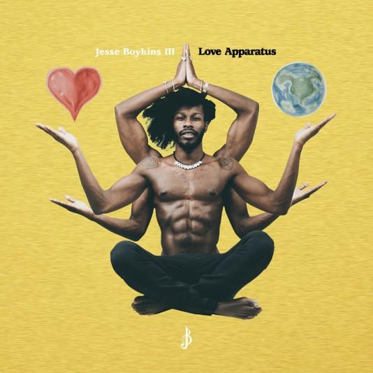 Lista mejores discos 2014 - Jesse Boykins III -Love Apparatus