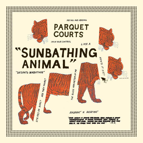 Lista mejores discos 2014 - Parquet Courts - Sunbathing Animal