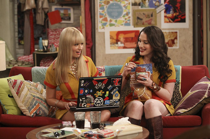 Crítica series, 2 broke girls, Caroline y Max