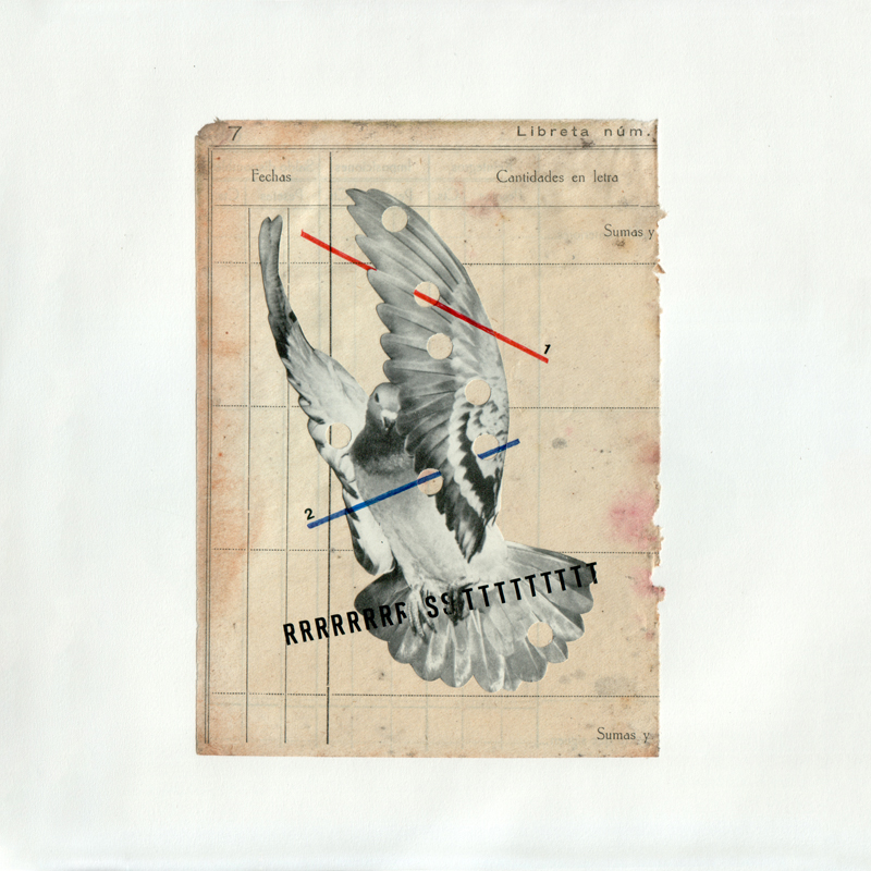 Erre Gálvez - Collage, Bestiario agujereado 1