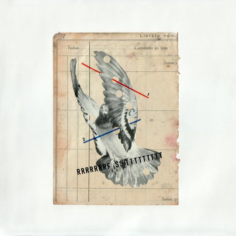 Erre Gálvez - Collage, Bestiario agujereado 1