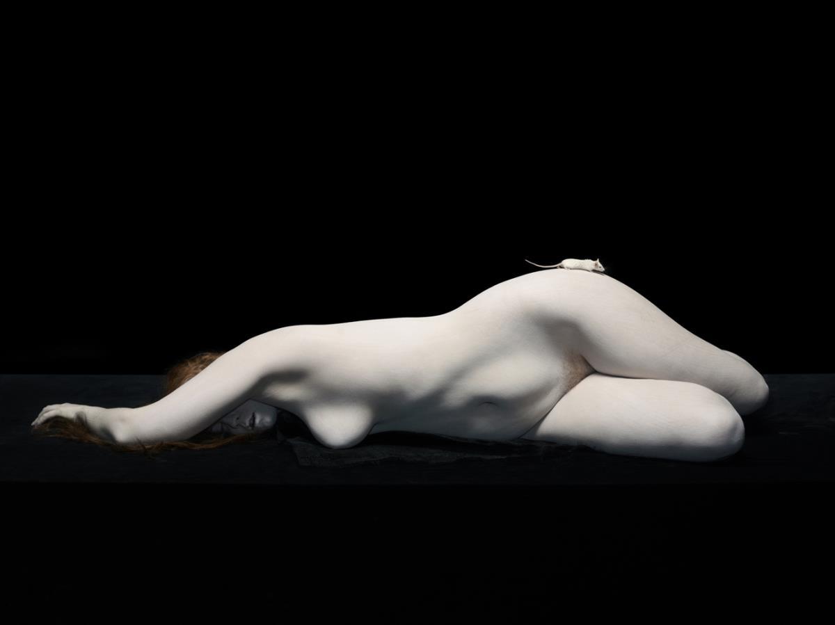 Fotografía - Nadav Kander, Inner Condition, desnudo 2