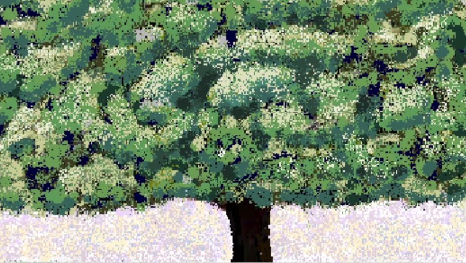 Hal Lasko, the pixel painter - Puntillismo 1