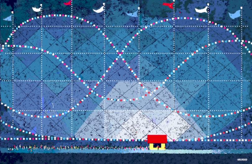 Hal Lasko, the pixel painter - Puntillismo 5