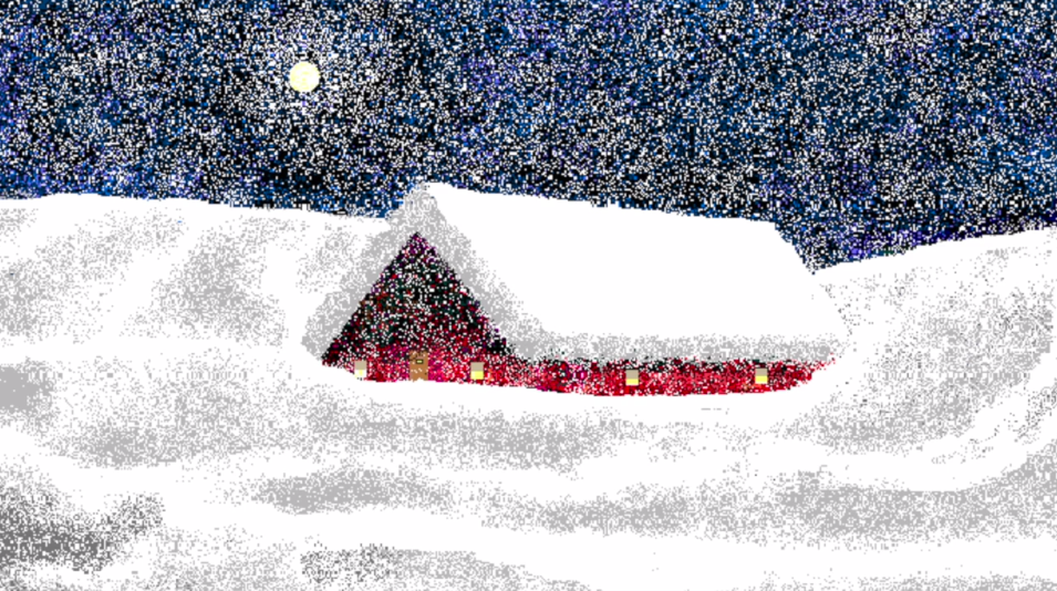 Hal Lasko, the pixel painter - Puntillismo 6
