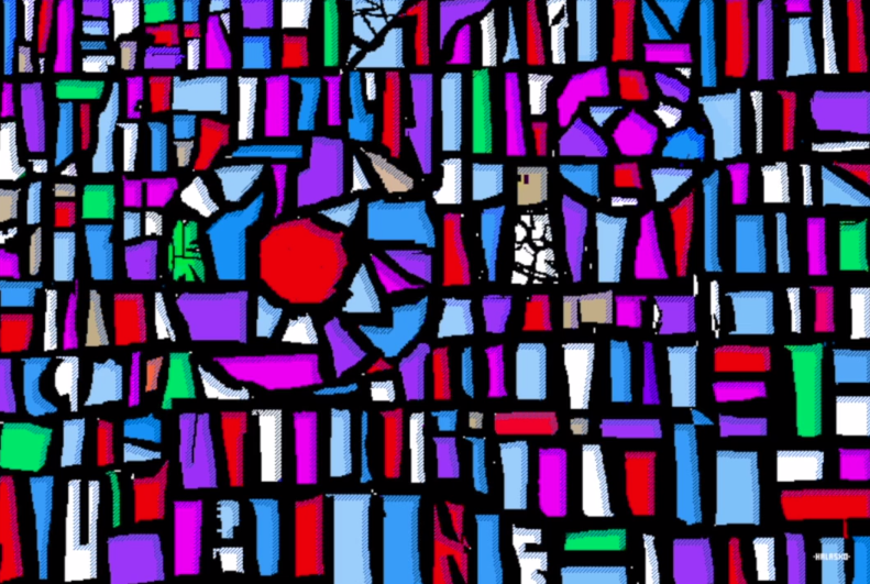 Hal Lasko, the pixel painter - Puntillismo 7