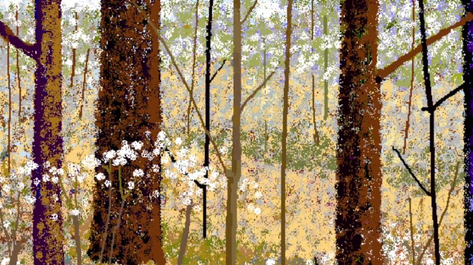 Hal Lasko, the pixel painter - Puntillismo 8