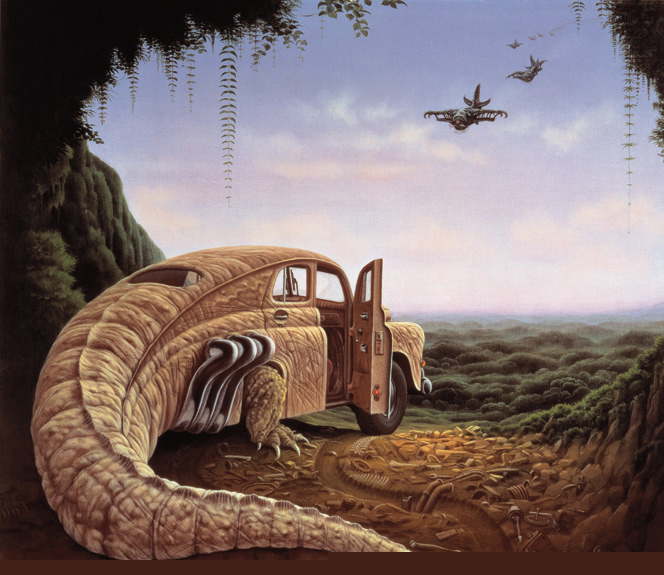 Ilustración - Jacek Yerka, surrealismo 2