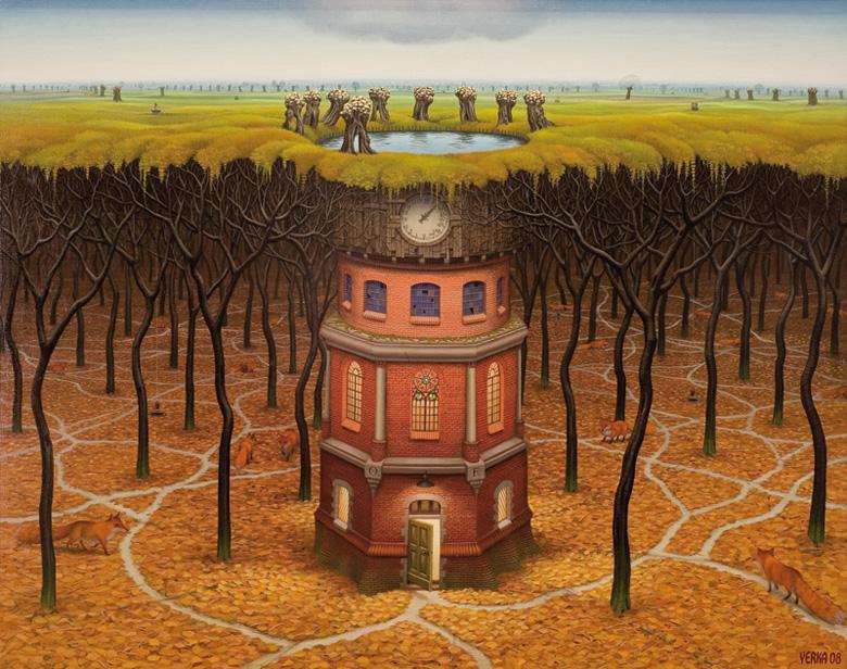 Ilustración - Jacek Yerka, surrealismo 20