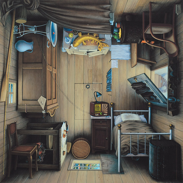 Ilustración - Jacek Yerka, surrealismo 3
