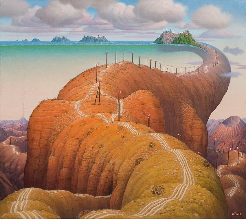 Ilustración - Jacek Yerka, surrealismo 15