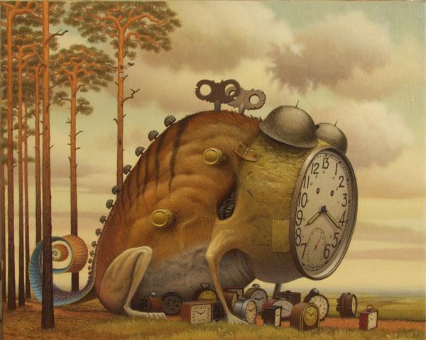 Ilustración - Jacek Yerka, surrealismo 22