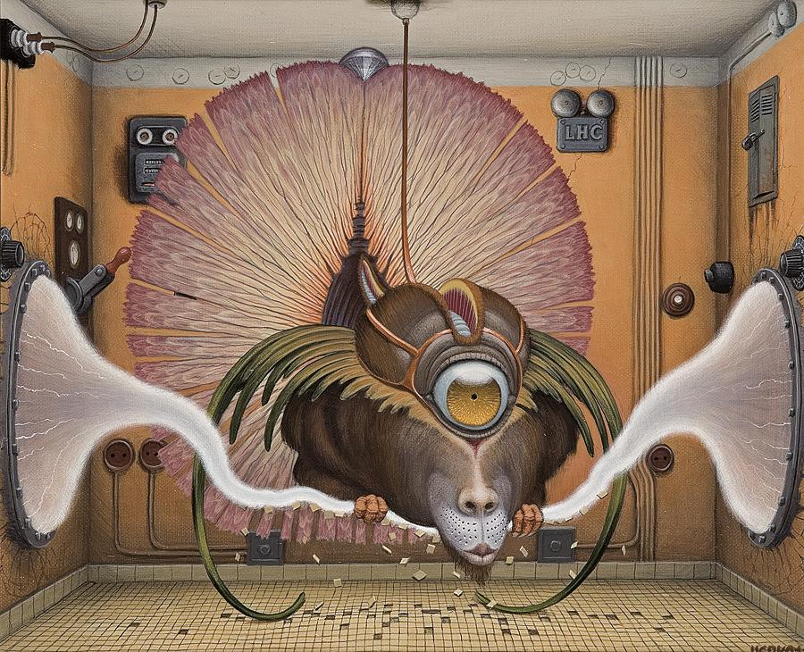 Ilustración - Jacek Yerka, surrealismo 24