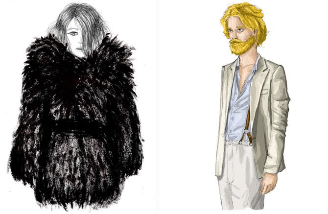 La moda muerde al arte, Loreto Binvignat
