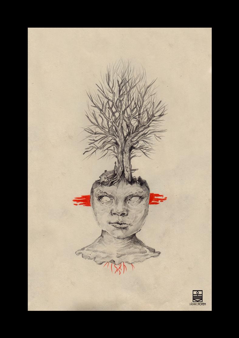 Ilustración - Lázaro Tótem 2