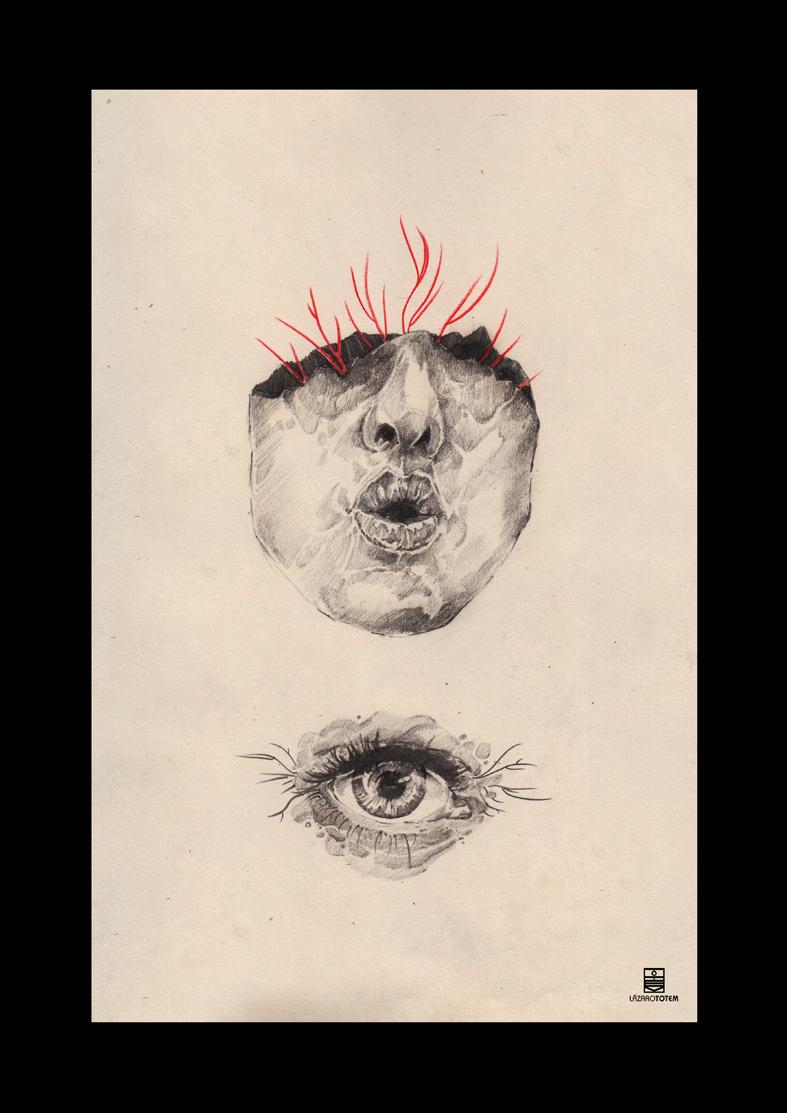 Ilustración - Lázaro Tótem 4
