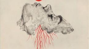 Lázaro Totem, minimalismo en blanco, negro, rojo y… papel