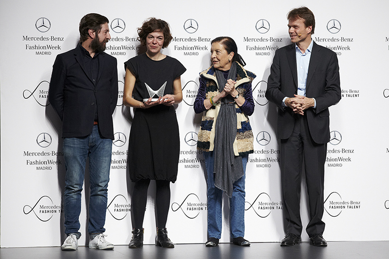 Mercedes-Benz Fashion Talent - María Clè Leal