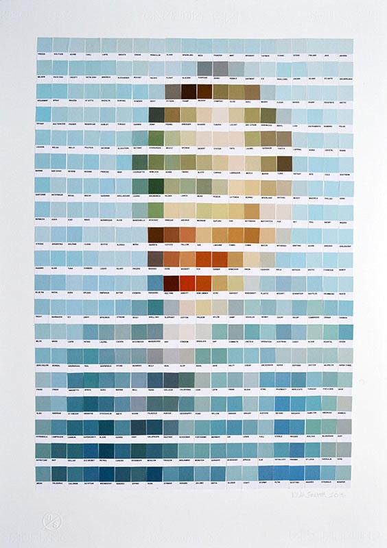 Nick Smith - obras arte pantone 1