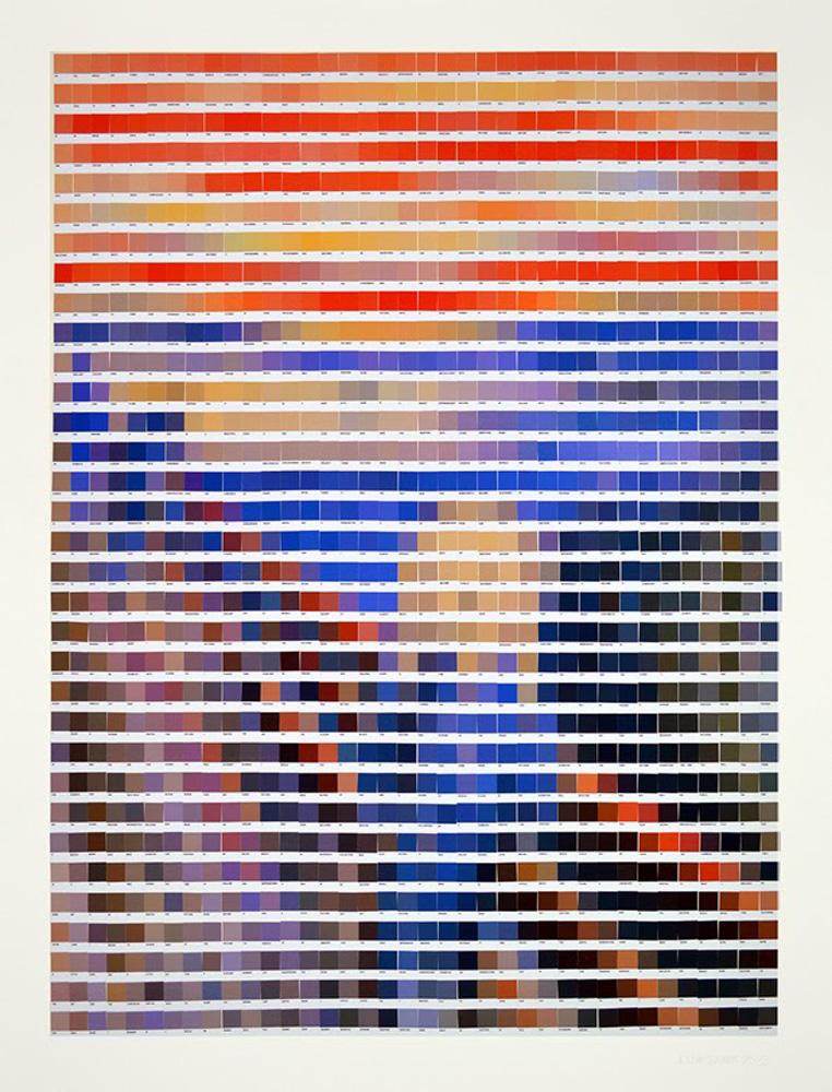 Nick Smith - obras arte pantone 2