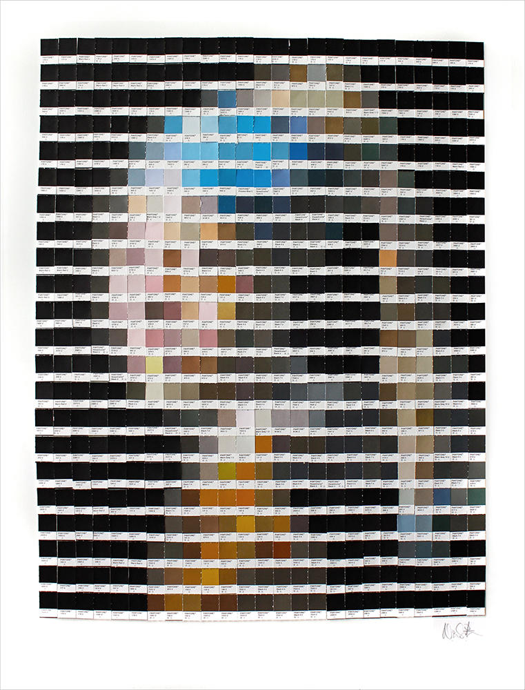Nick Smith - obras arte pantone 5