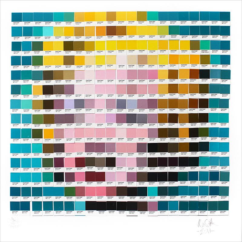 Nick Smith, obras de arte clásicas hechas pedazos