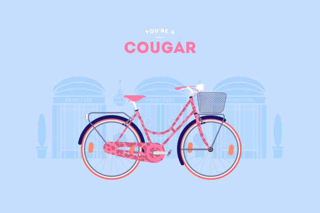 Cyclemon -Ilustración - cougar