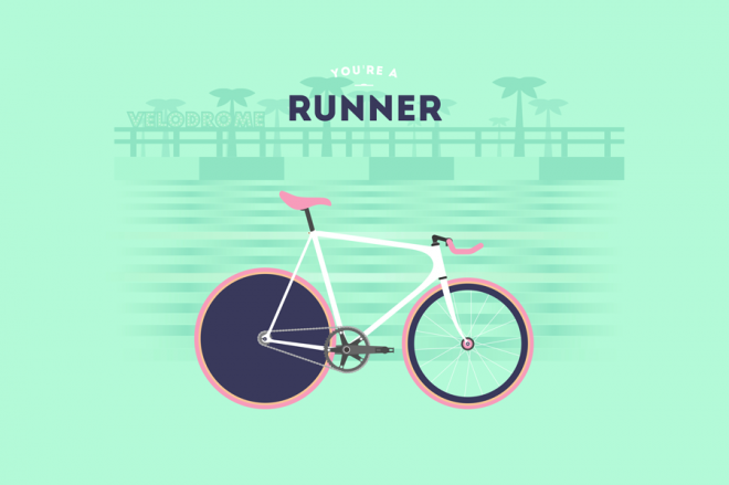 Cyclemon -Ilustración - runner