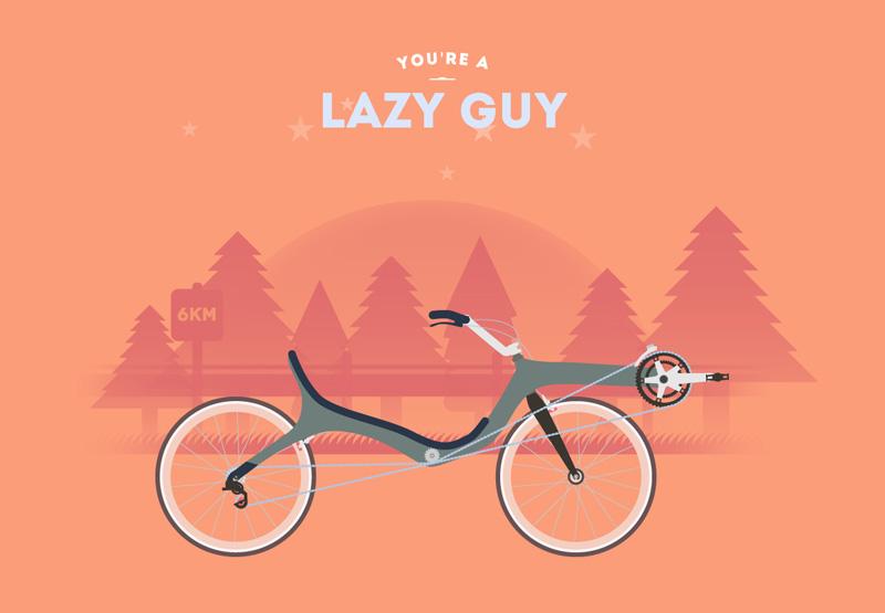Cyclemon, ilustraciones para pedalear a tu estilo