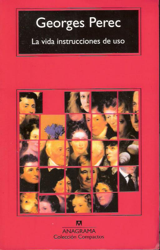 Día del libro 2015, George Perec - La vida instrucciones de uso