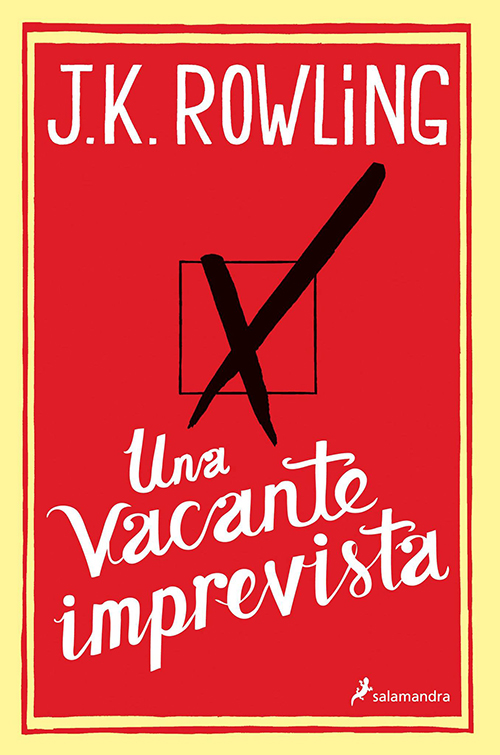 Día del libro 2015, JK Rowling, Una vacante imprevista