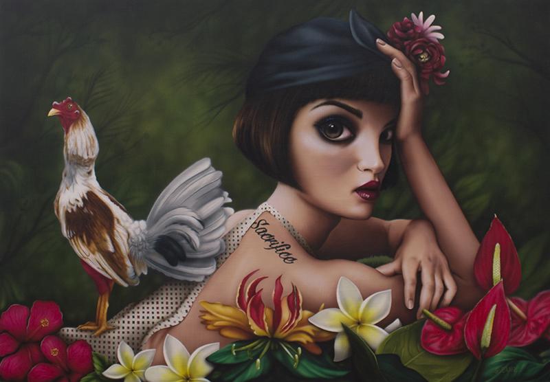 Surrealismo pop: los mundos oníricos de Sara Sanz