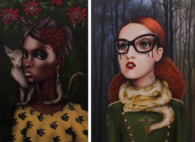 Ilustración Sara Sanz Galería combustión espontánea 7