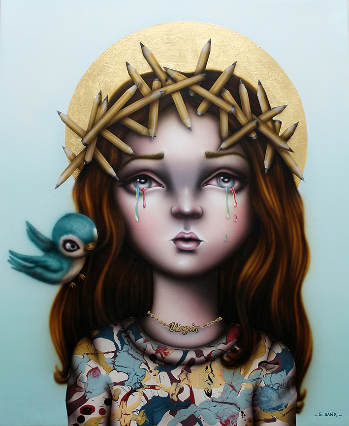 Ilustración Sara Sanz Galería combustión espontánea 9