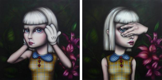 Ilustración Sara Sanz Galería combustión espontánea