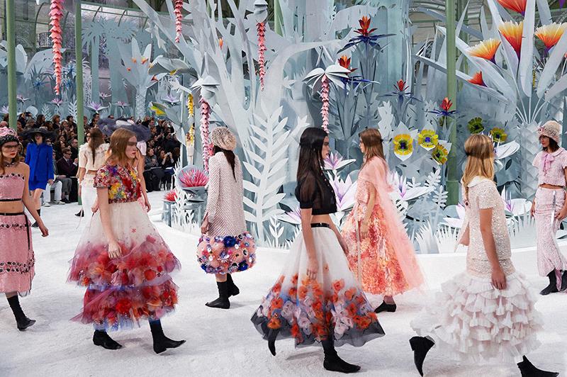 Bienvenidos al espectáculo de la moda