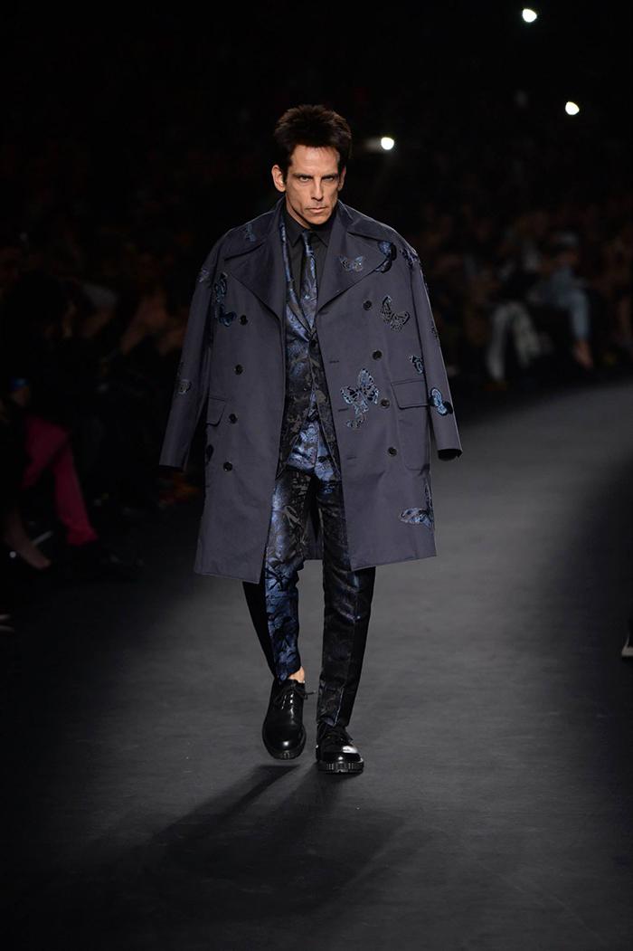 Desfile moda Valentino - Zoolander - Ben Stiller