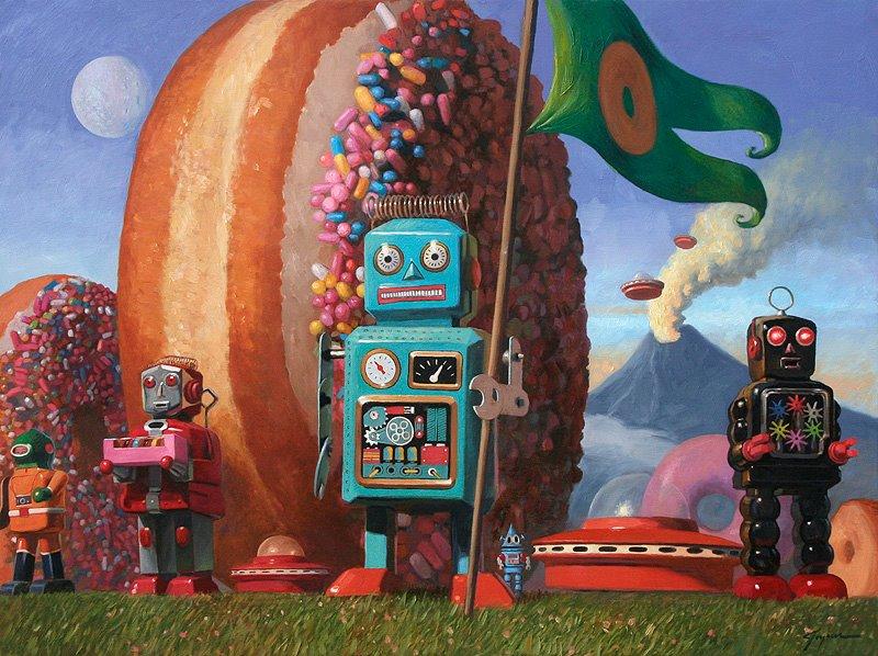 Eric Joyner: la rebelión de los robots y los donuts