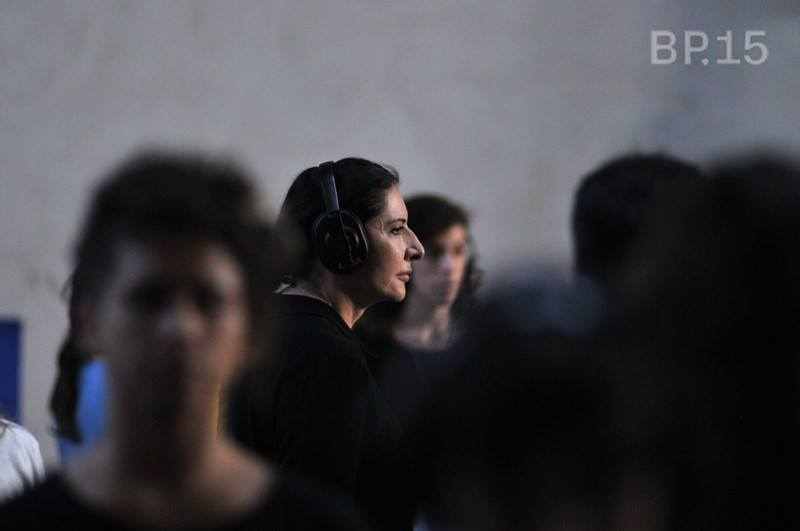 Marina Abramovic, Bienal Performance Buenos Aires 4