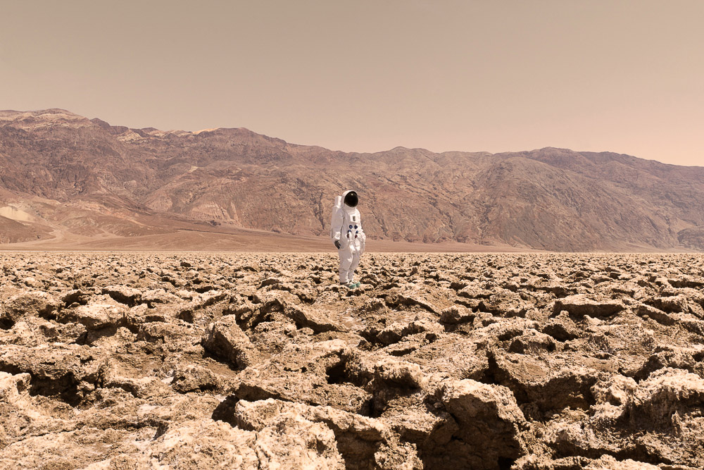 Fotografía Julien Mauve - Greetings From Mars 1
