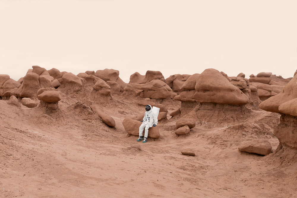 Fotografía Julien Mauve - Greetings From Mars 10