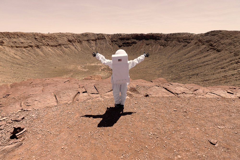 Fotografía Julien Mauve - Greetings From Mars 12