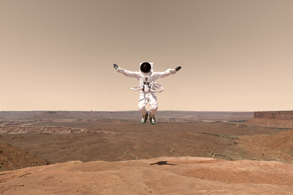 Fotografía Julien Mauve - Greetings From Mars 2