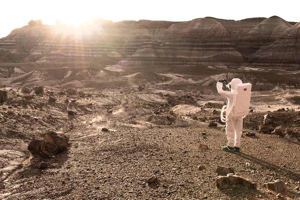 Fotografía Julien Mauve - Greetings From Mars 3