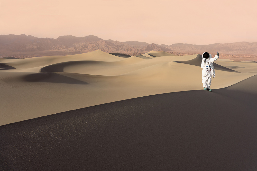 Fotografía Julien Mauve - Greetings From Mars 7