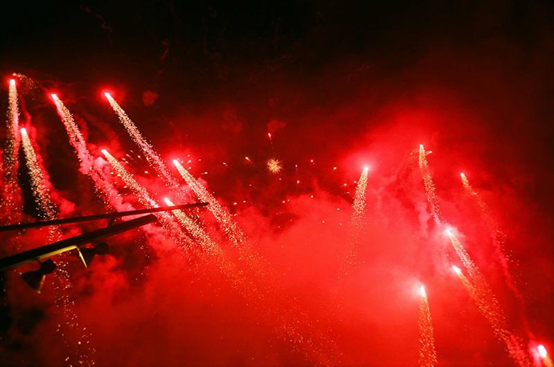 Primavera Sound 2015 fuegos