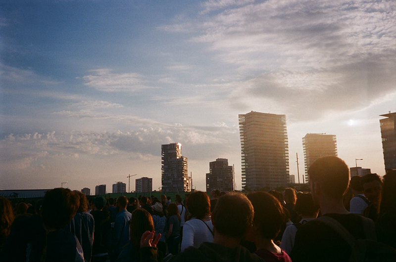 Primavera Sound 2015 skyline