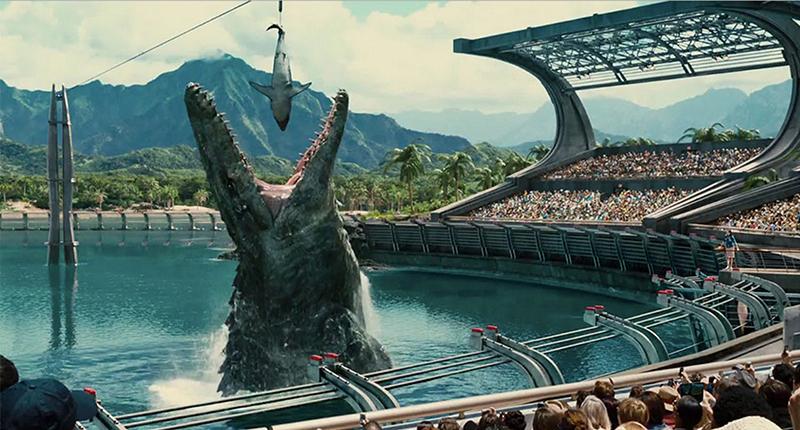 Crítica Jurassic World - T Rex